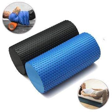 Amazon.com: 30x14.5cm Yoga Pilates Foam Roller Home Gym ...