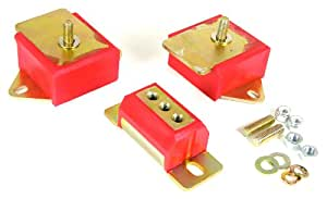 Prothane 1-1904 Red Motor and Transmission Mount Kit for CJ5, CJ7 and CJ8