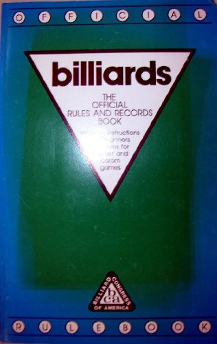 billiards: The official Rules and Record Book