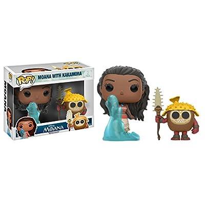 Funko POP Disney: Moana and Kakamora Toy Figure (2 Pack): Funko Pop Disney:: Toys & Games