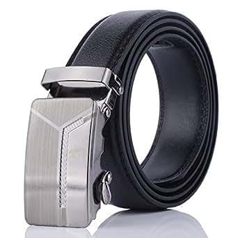 Black Canvas Belt For Men