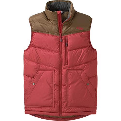 Carob Transcendent Vest Outdoor Men's Research Down Firebrick g8AAOwq