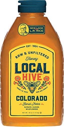 Local Hive Colorado Raw & Unfiltered Honey, 40oz (Best Local Honey For Allergies)