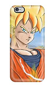 Hot Protection Case For Iphone 6 Plus / Case Cover For Iphone(super Saiyan Goku) 6533164K91411490