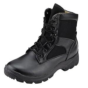 Amazon.com: Aiyuda Men's Military Tactical Combat Boots Waterproof ...