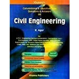 Conventional & Objective Type Questions & Answers on Civil Engineering