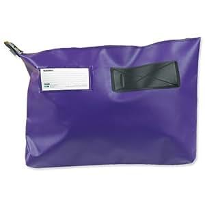 Versapak CG6PUR - Bolsa para envío (plástico, con ventana, 510 x 406 x 75 mm), color morado