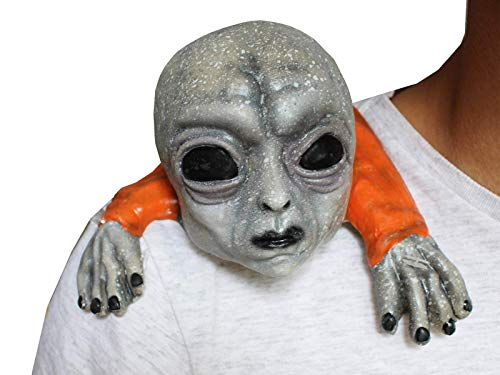 Mini Alien Area 51 Buddy Shoulder - Accessory for Halloween by Ghoulish Buddies Collection]()