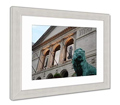 Ashley Framed Prints Art Institute of Chicago, Wall Art Home Decoration, Color, 30x35 (Frame Size), Silver Frame, AG5592712