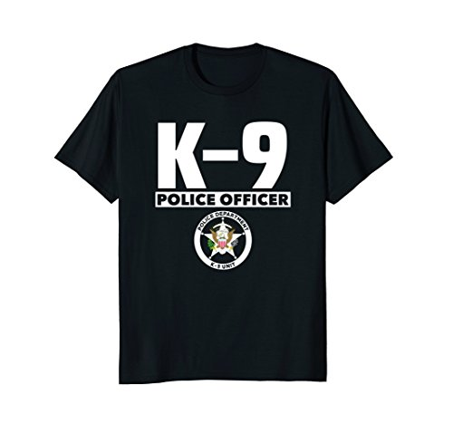 K-9 Police Officer T-Shirt LEO Off Duty Cops Law -