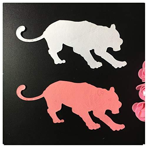 - Cutting Dies,Pollyh Chinese Zodiac Signs Rat Tiger Rabbit Dragon Snake Horse Monkey Chicken Dog Pig New Metal Cutting Dies Stencil DIY Scrapbooking Embossing Album Paper Card Craft (C)