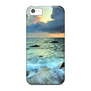 Anti-scratch And Shatterproof Sea And Sky Beautifull Phone Cases For Iphone 5c/ High Quality Cases