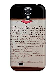 Faddish Phone Old Love Letters Photography Case For Galaxy S4 / Perfect Case Cover