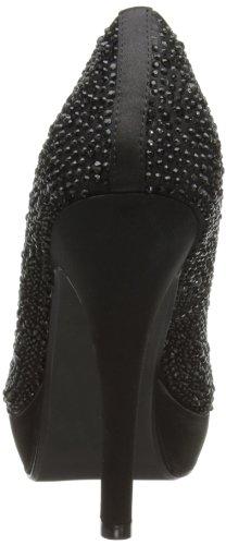 Lunar FLR210 - zapatos de vestir de satén mujer negro - negro