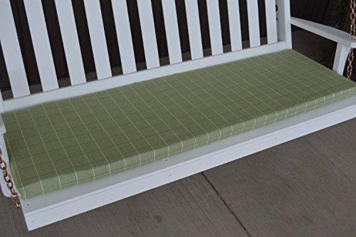 A & L Furniture Sundown Agora 4' Cushion for Bench Or Porch Swing, 45