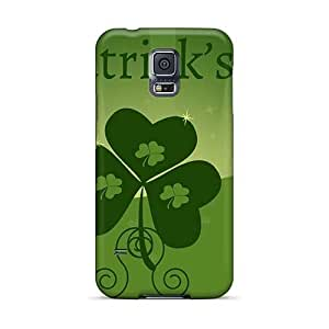 AaronBlanchette Samsung Galaxy S5 Shock Absorbent Hard Phone Cases Unique Design Attractive Green Day Pictures [Xfi1007Fthk]