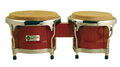 CODA DP-220-BUR Bongo Drum, Burgundy by CODA
