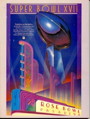 Super Bowl XVII Program - Redskins / Dolphins 1983]()