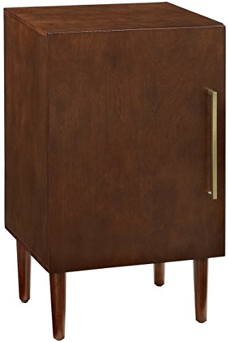 (Crosley Furniture CF1104-MA Everett Mid-Century Modern Record Player Stand,)