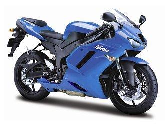 Maisto 539155 - Kit de Kawasaki Ninja Zx 6R 07 1: 12: Amazon ...