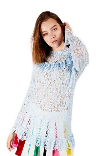 Mujer Azul Para Rich Fashion Camisas qw6xgntvP