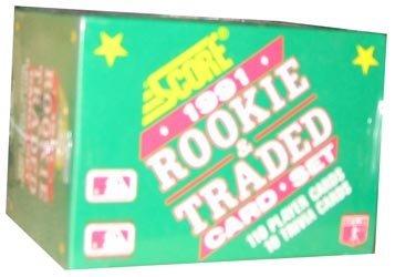 (1991 Score Rookie & Traded Baseball Set - 120C)