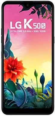 "Smartphone LG K50S Preto 32GB, Tela 6,5"" Narrow Notch HD+ FullVision, Inteligência Artificial, Câmera Tri"