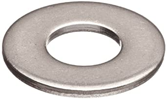Made in US 2 OD 1.063 ID 1 Hole Size Small Parts Z0623-316 Stainless Steel Flat Washer 0.11 Nominal Thickness Pack of 5