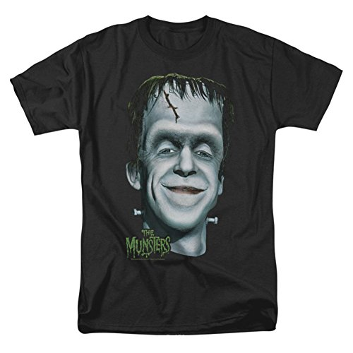 The Munsters Herman's Head Mens Short Sleeve Shirt