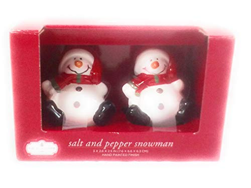 Trim A Home Salt Pepper Snowman Set