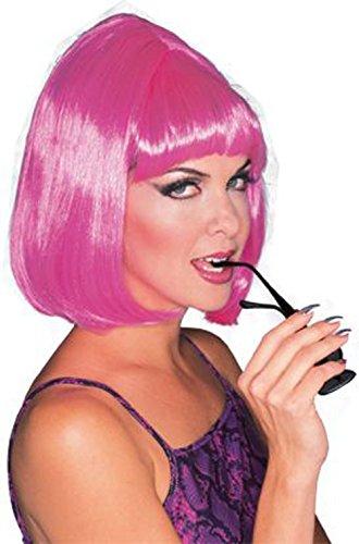 Rubie's Hot Pop Star Wig, Pink, One Size