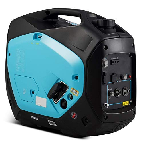 2000 Watt Super Quiet Gas-Powered Portable Inverter Generator, Size 20 inch x 11 inch x 17.5 inch, Great for an Emergent Power Outage Home or Outside Camping, Campgrounds, Construction Sites, etc. Uncategorized