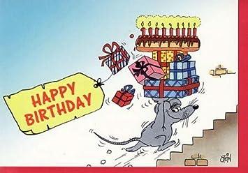 Uli Stein Geburtstagskarte Geschenkelieferung Amazonde Bürobedarf