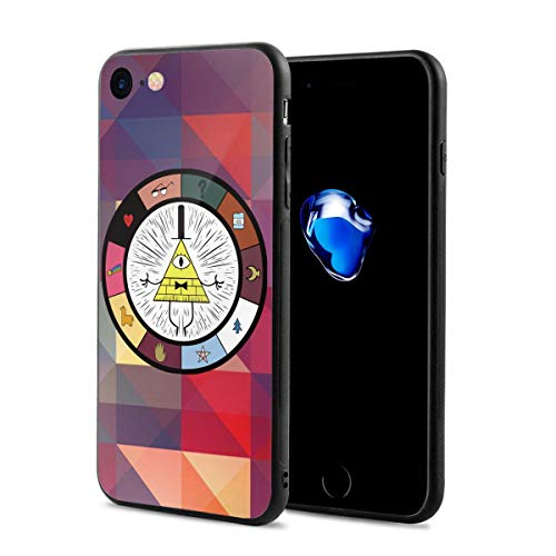 Gravity Falls - Wheel Anti-Scratch Shock Rubber Silicone Rugged Thin Cover Phone Case for iPhone 7/iPhone 8