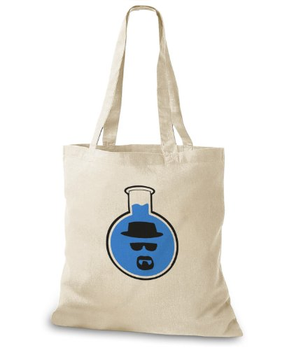 StyloBags Jutebeutel / Tasche Blue Meth Natur