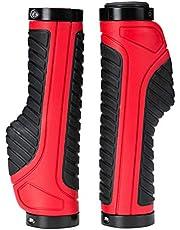 LIOOBO 2 Pair Bicycle Handle Grips Anti-Slip Grips Handlebar Grips for Mountain Bicycle Cycling Handle