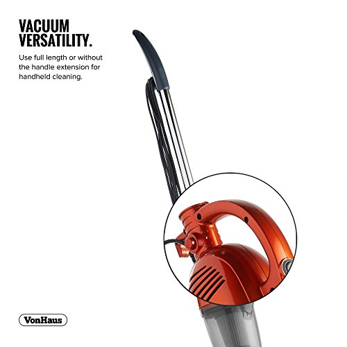 Vonhaus 2 In 1 Corded Bagless Lightweight Stick Vacuum
