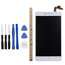 for XiaoMi Redmi Note 4 Global Version LCD Digitizer Replacement HYYT New LCD Display + Touch Screen Digitizer Full of Assembly (White)