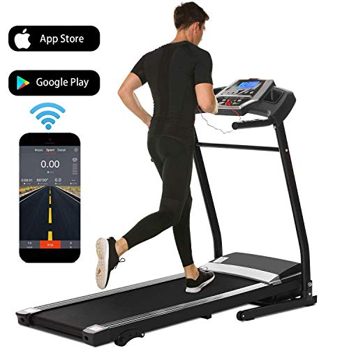 Yiilove Folding Treadmill Electric Motorized Power Fitness Running Machine for Home Gym US Stock