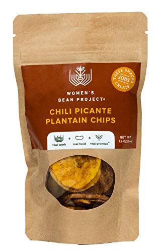Women's Bean Project Chili Picante Plantain Chips, 1.6oz