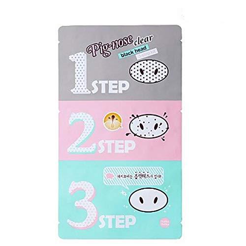 ([Holika Holika] Pig Nose Clear Black Head 3-Step Kit (3)