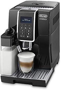 ديلونجي ماكينة صنع القهوة الأوتوماتيكية حبوب,اسود - ECAM 350.55.B