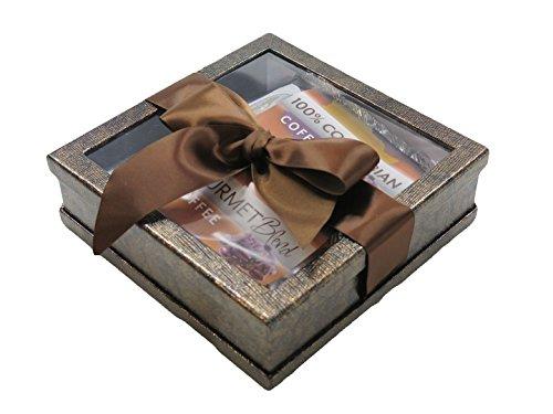 Lovers Gift Set - Gourmet Coffee Gift Set - Coffee Gift Basket - Coffee Lovers Gifts - Coffee Gift Set - Best Coffee Gift (Bronze)