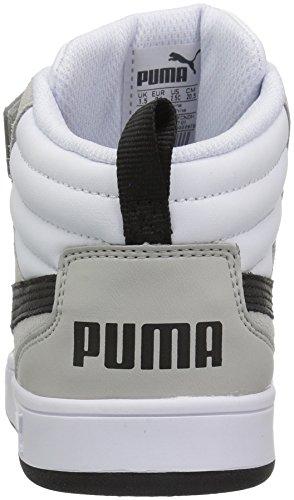 PUMA Baby Rebound Street v2 V Kids, White Black, 5 M US Toddler