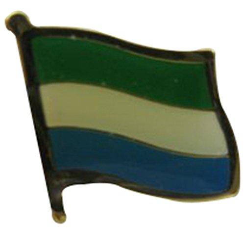 (Sierra Leone Single Lapel Pin)