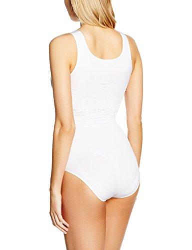 bellycloud Barbara Lilie, Body para Mujer Blanco (Weiß 099)