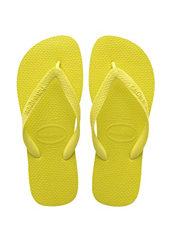Havaianas Unisex Top Flip Flops, Citrus Yellow, 12/13 UK (47/48 EU (45/46 ()