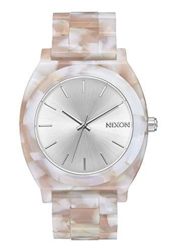 NIXON Time Teller Acetate 100m Water Resistant Women's Analog Fashion Watch (37mm Watch Face, 20mm Acetate Band)