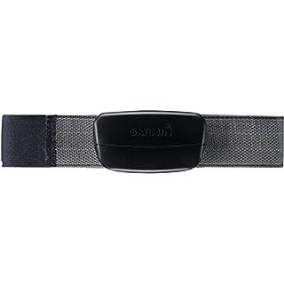 Garmin Premium - Monitor de frecuencia cardiaca (incluye correa blanda), color negro