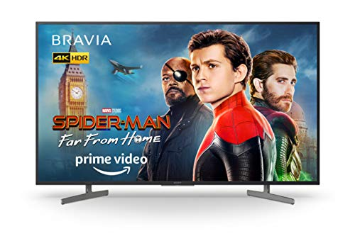 Sony BRAVIA KD55XG81 55 Inch 4K LED Android Smart TV HDR Ultra HD with Voice Remote – Black (2019 Model)